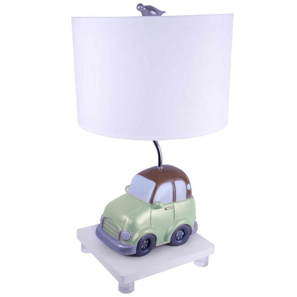 Sammy 19.5 in. Green Beepbeep Table Lamp-DISCONTINUED
