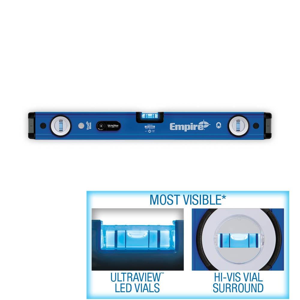 Empire 24 in. UltraView LED Magnetic Box Level