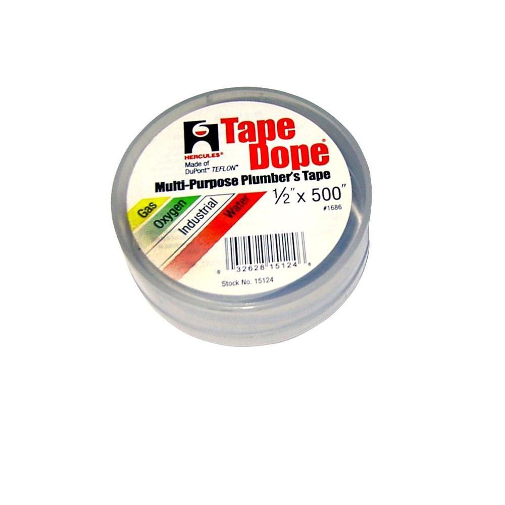 1/2 in. x 500 in. Tape Dope