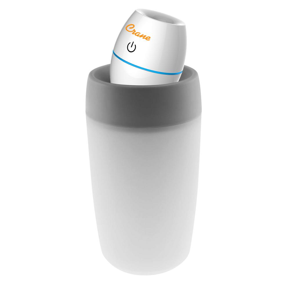 Crane 8 oz. Travel Ultrasonic Cool Mist Humidifier, Whites was $29.99 now $17.99 (40.0% off)