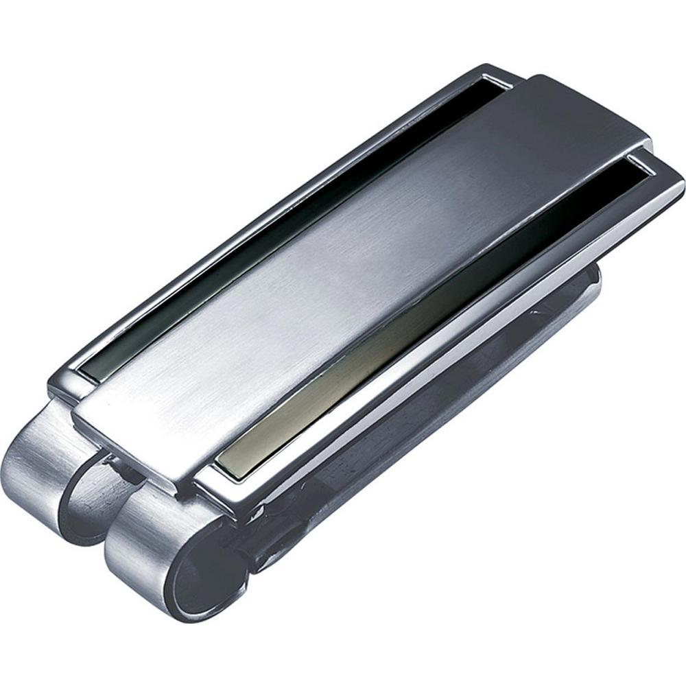 Zafar Stainless Steel Money Clip, Grays