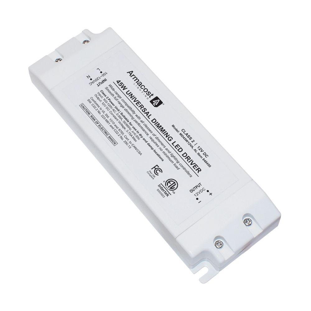 armacost lighting 45 watt led power supply dimmable driver r840450