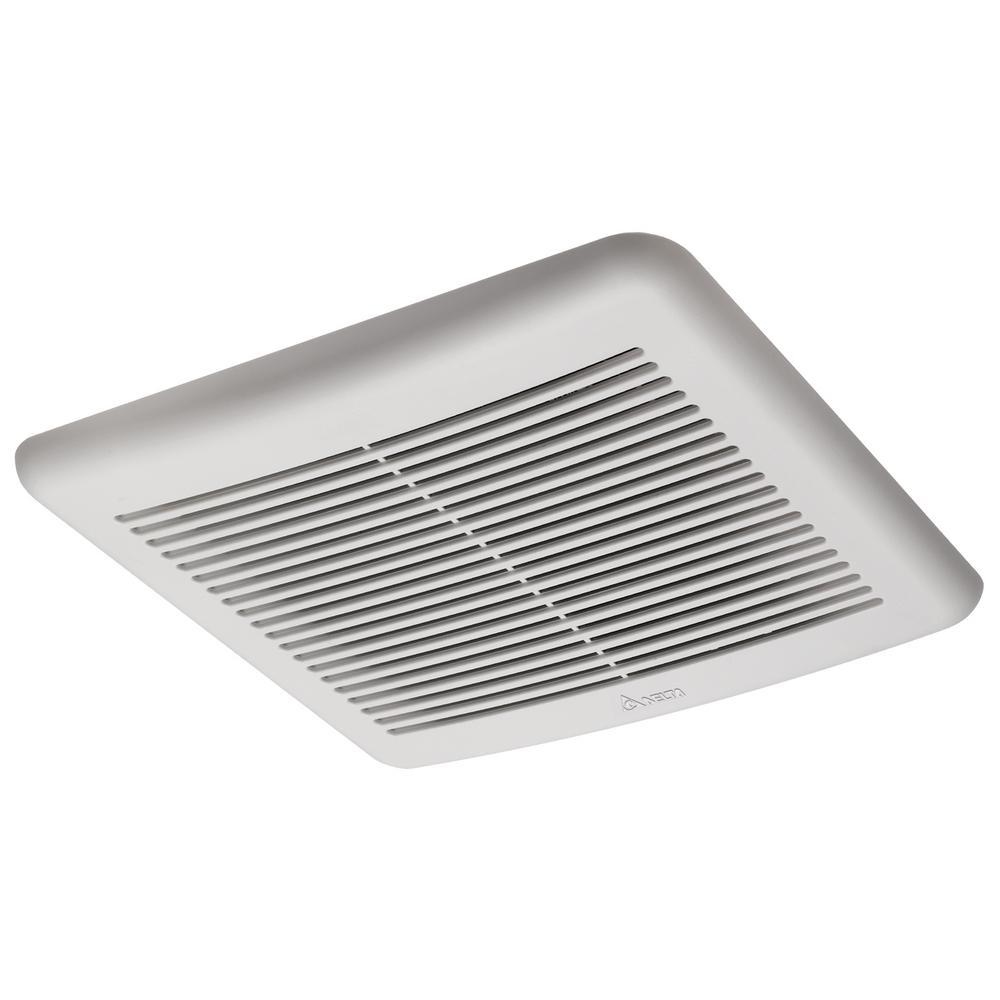 Quiet Bathroom Exhaust Fans: Slim Series 70 CFM Wall Ceiling Exhaust Bath Fan Bathroom