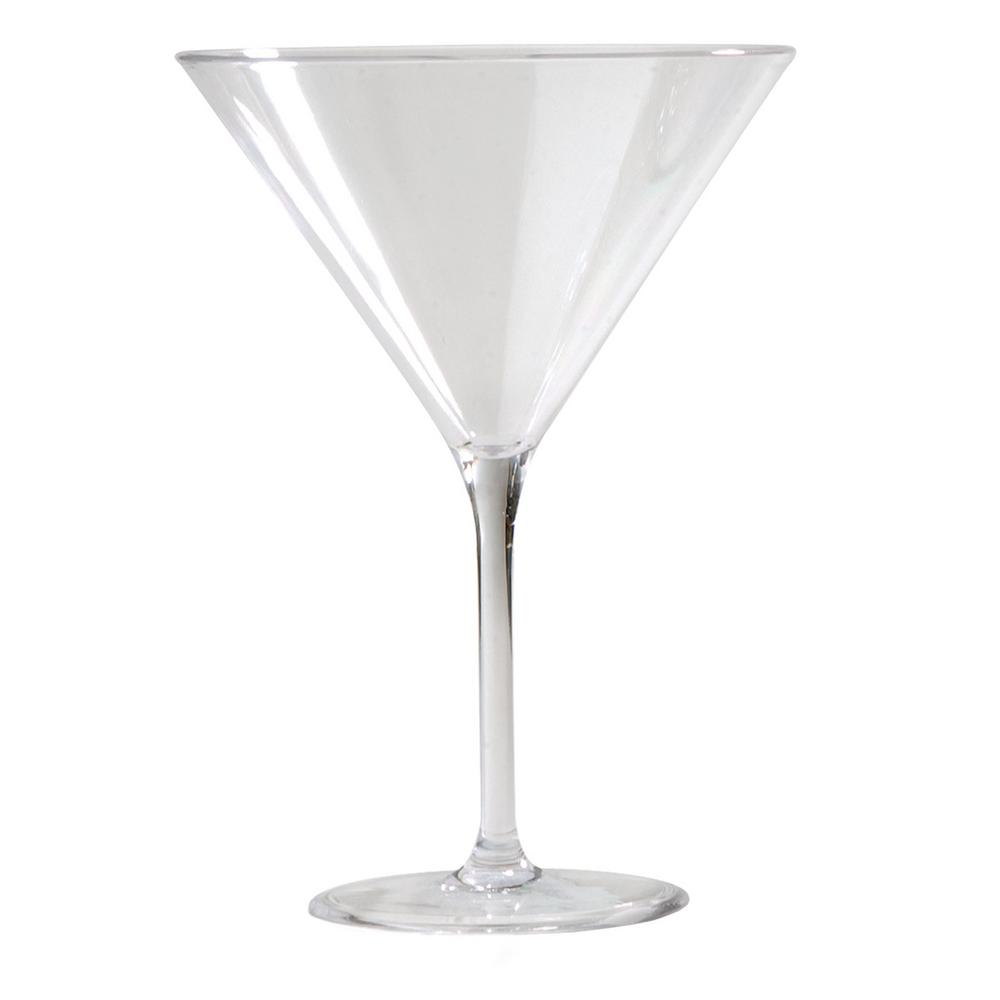 Alibi 9 oz. Martini Glass in Clear (Set of 24)