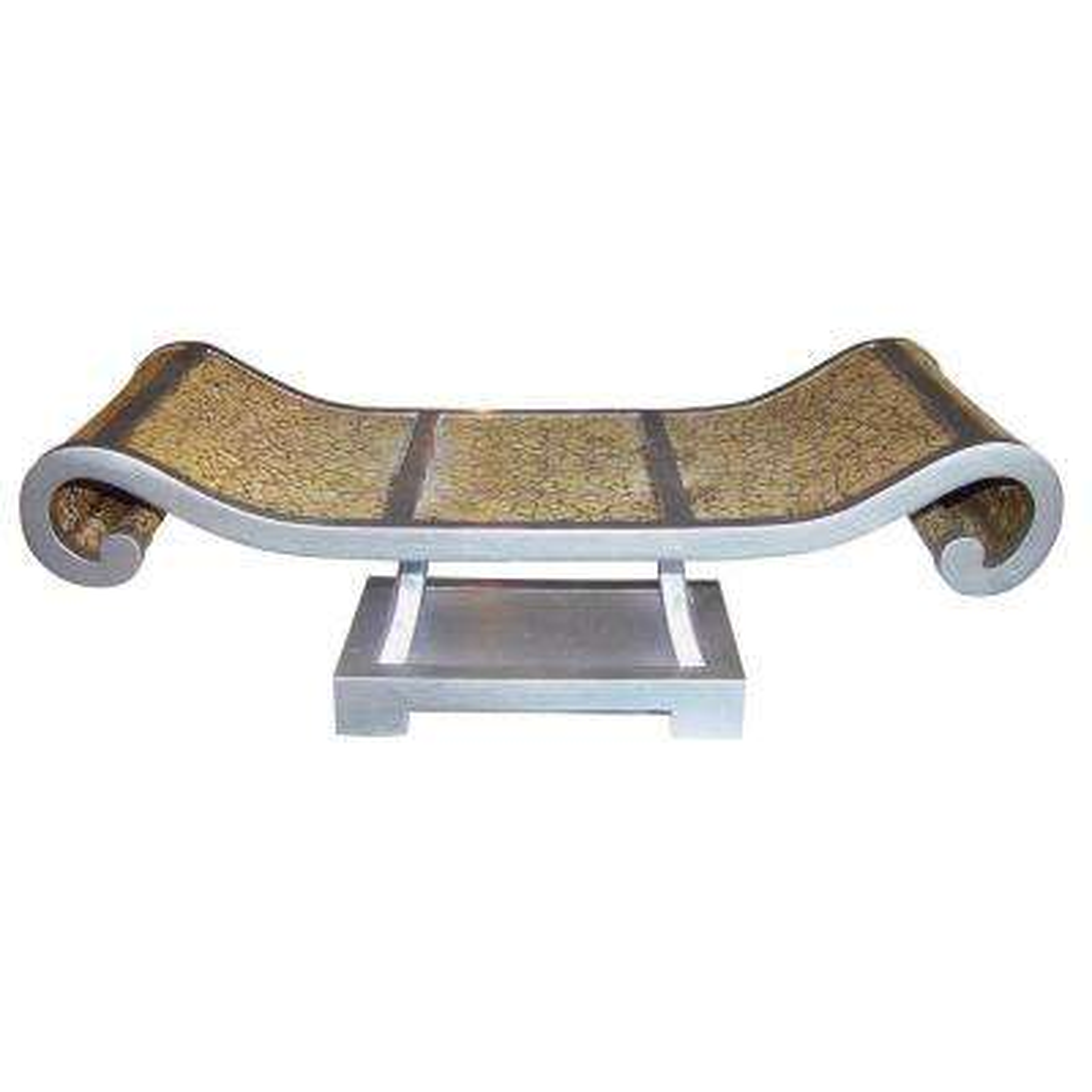 Beige Cracked Granite Polyresin Decorative Plate