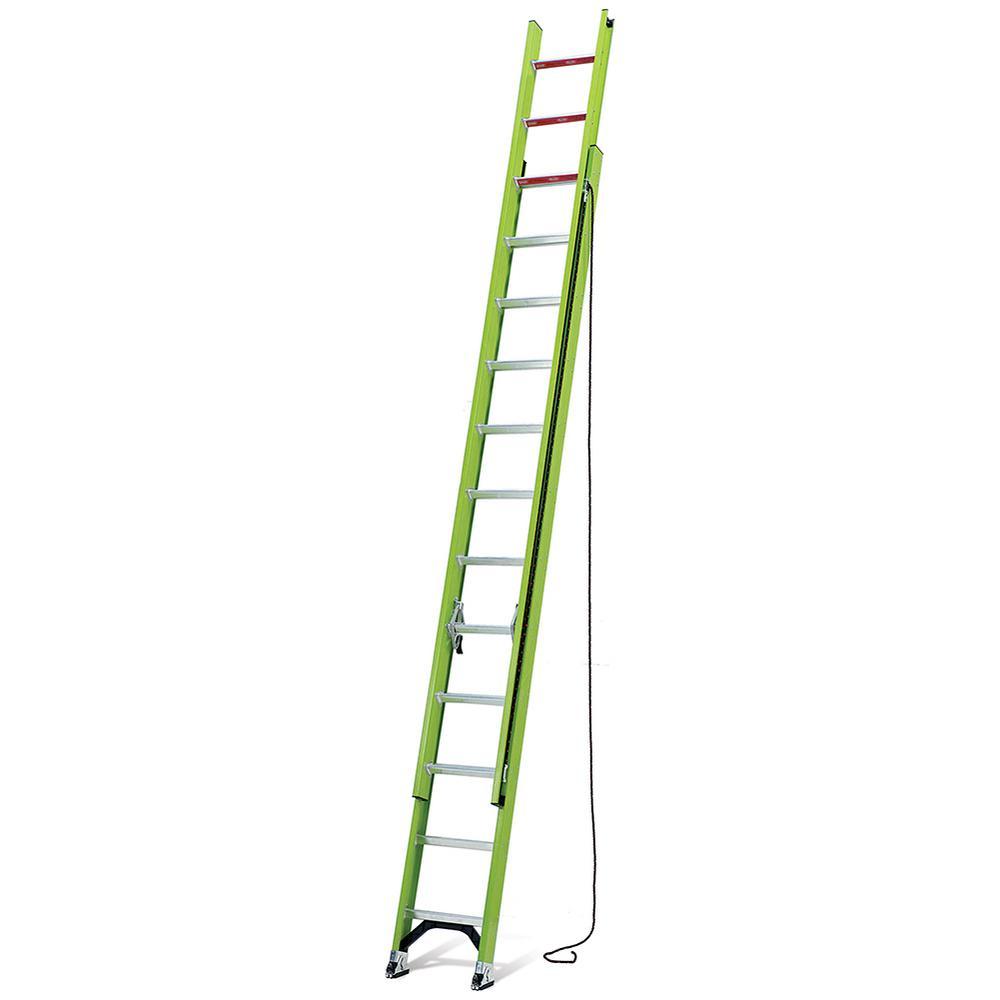 HyperLite 24 ft. Type IA Fiberglass Extension Ladder