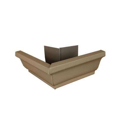 6 in. Natural Clay Aluminum Outside Gutter Mitre Box