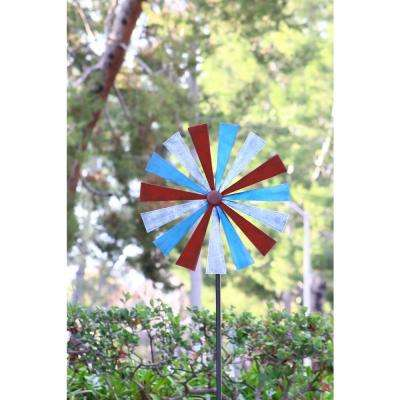 Red-Blue-White Disk Spinner
