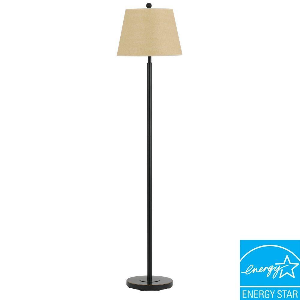 60 in. Andros Floor Lamp in Dark Bronze
