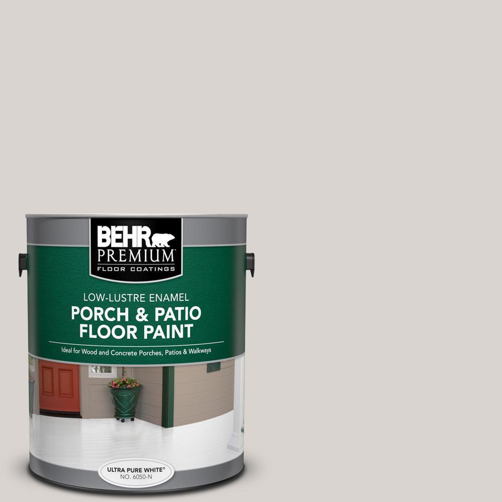1 gal. Home Decorators Collection #HDC-MD-21 Dove Low-Lustre Enamel Interior/Exterior Porch and Patio Floor Paint