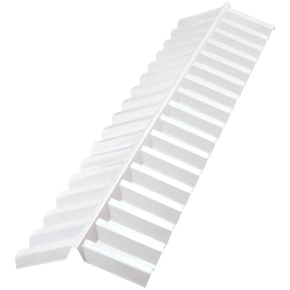 Suntuf 4 Ft White Opal Polycarbonate Roof Panel Ridge Cap