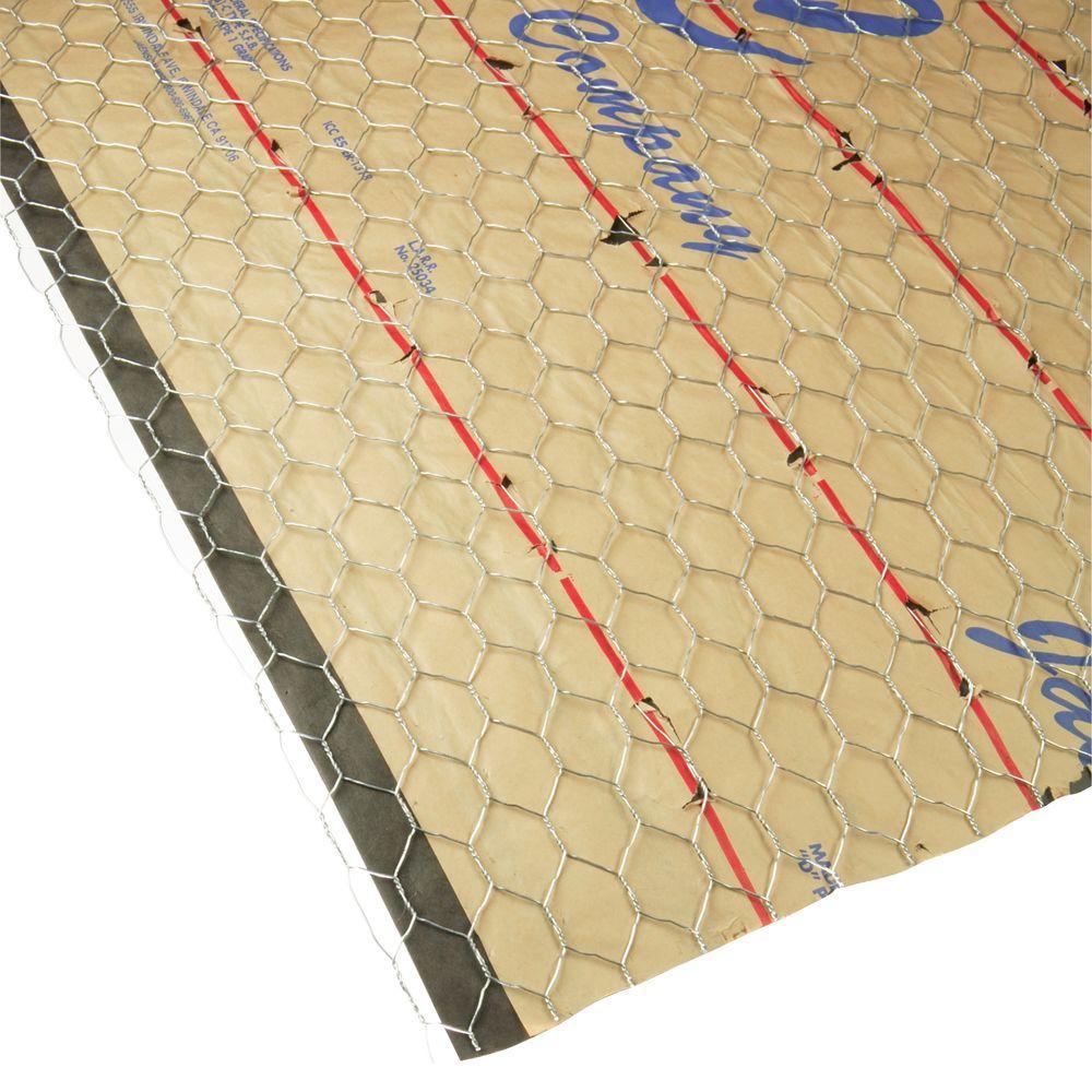 Weyerhaeuser 28 in. x 104 in. Single Paper Welded Wire Lath