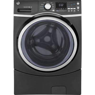 4.5 cu. ft. High-Efficiency Diamond Gray Front Load Washing Machine with Steam, ENERGY STAR