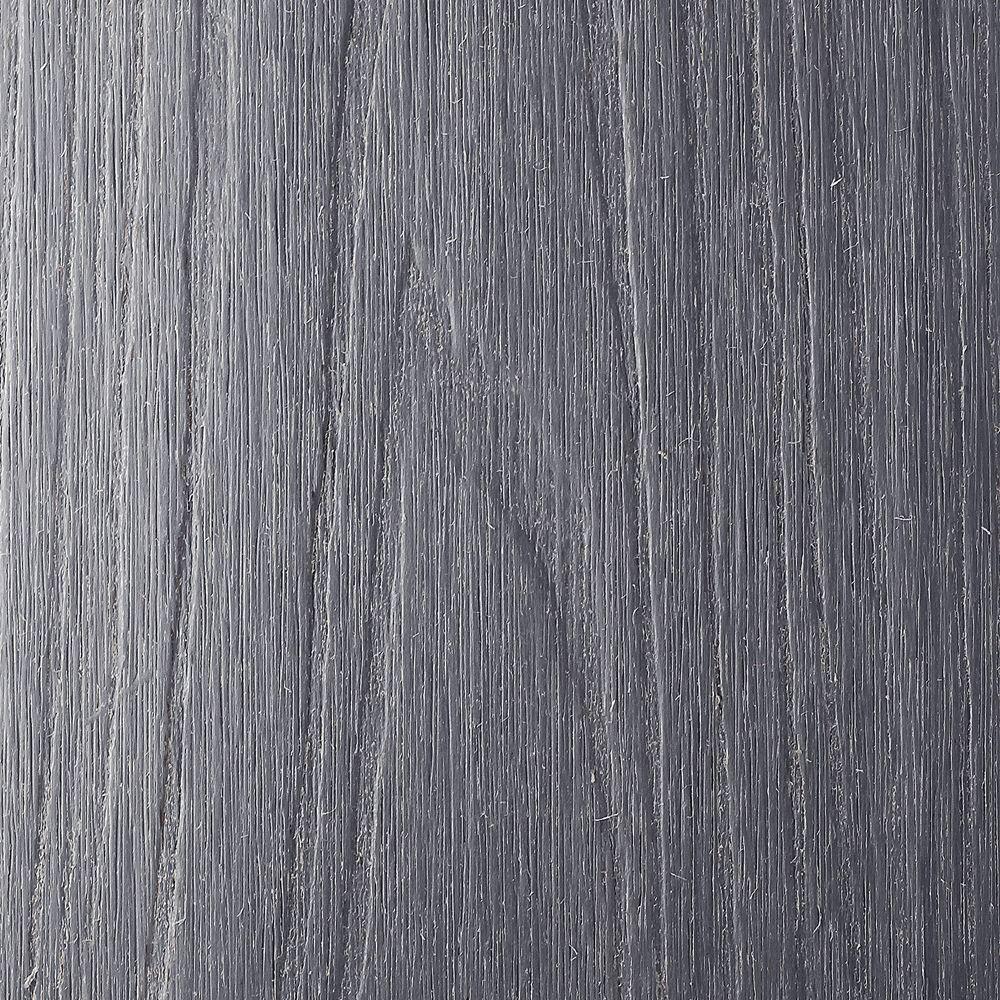 NewTechWood UltraShield 0.6 in. x 7 in. x 16 ft. Westminster Gray Fascia Composite Decking Board