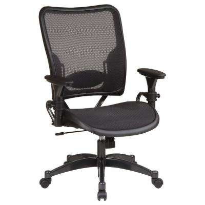 Black AirGrid Back Office Chair