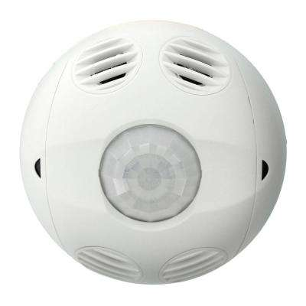 Multi-Technology Passive Infrared/Ultrasonic 2000 sq. ft. 360-Degree Ceiling Mount Occupancy Sensor, True White