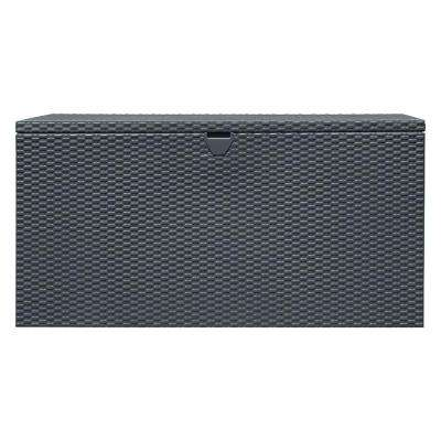134 Gal. HDG Steel Spacemaker Deck Box - Anthracite