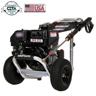 Aluminum 3300 PSI at 2.5 GPM KOHLER SH265 with AAA Triplex Pump Professional Gas Pressure Washer