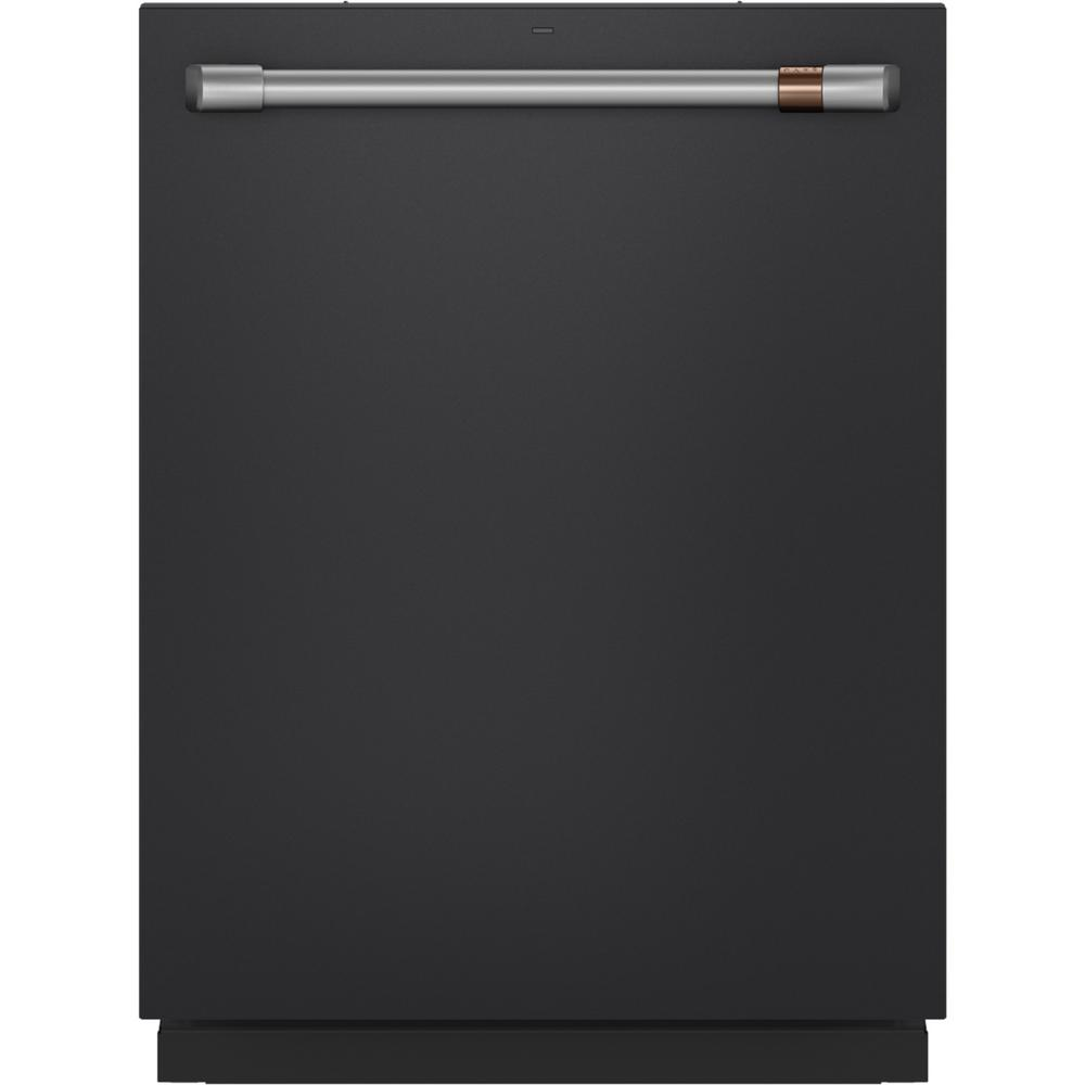 Cafe 24 in. Top Control Tall Tub Dishwasher in Matte Black with Stainless Steel Tub, Fingerprint Resistant, 45 dBA