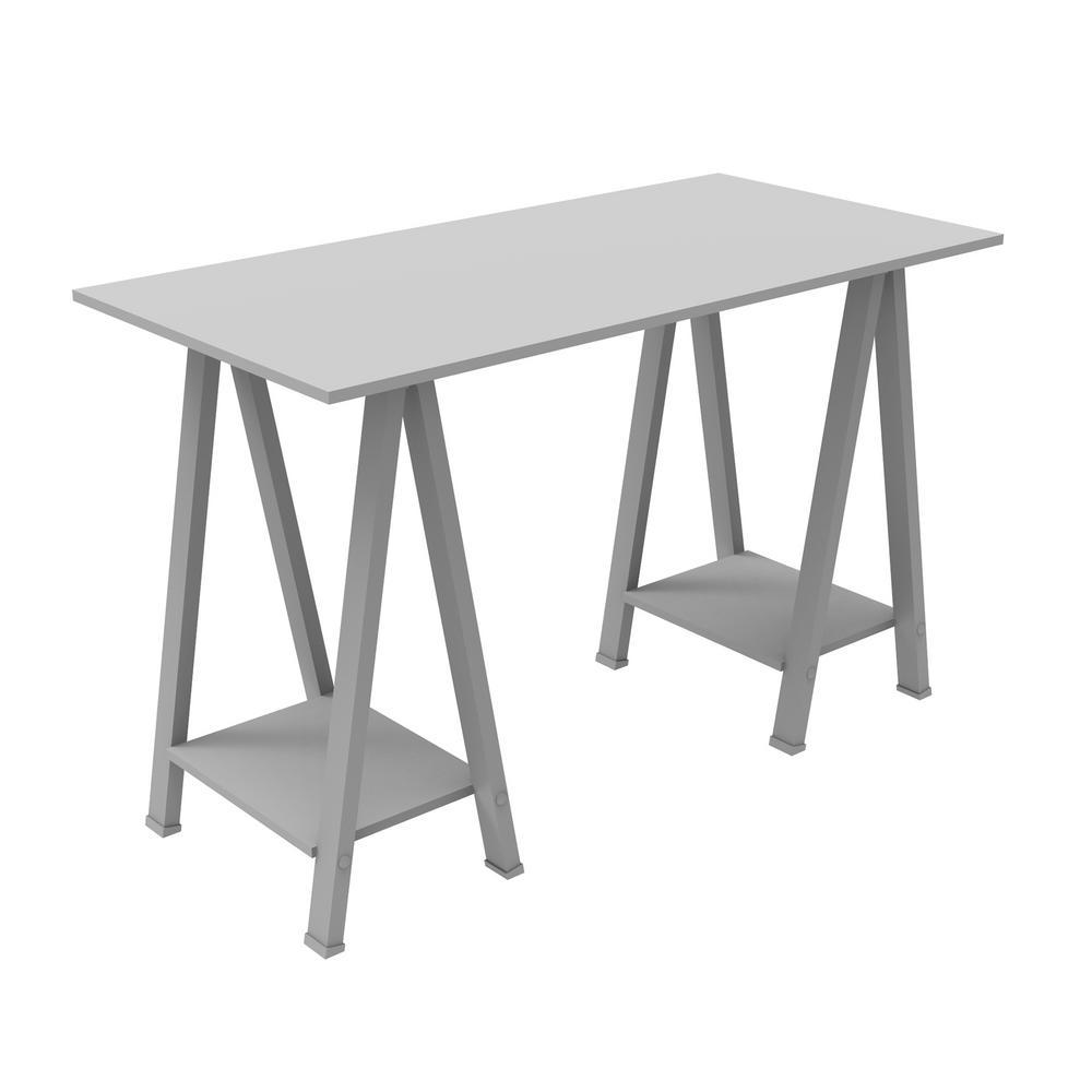 Walker Edison Home Office Grey Desk