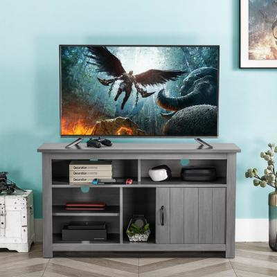 48 in. Gray TV Stand for TVs up To 55 in.
