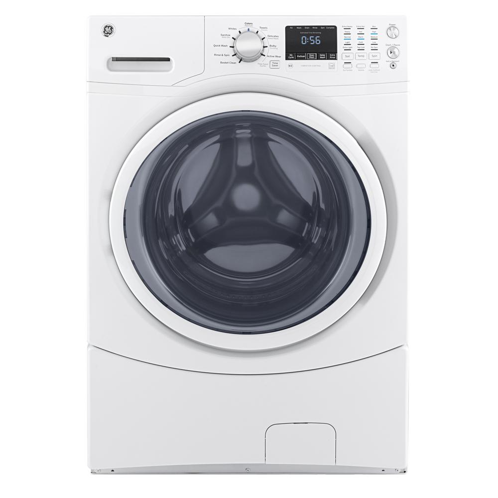Washing Machines Washers Dryers The Home Depot Twin Tub Machine Wiring Diagram Stackable White Front Load Energy Star
