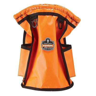 Arsenal 7.5 in. Waterproof Tarpaulin Parts Tool Bag, Orange