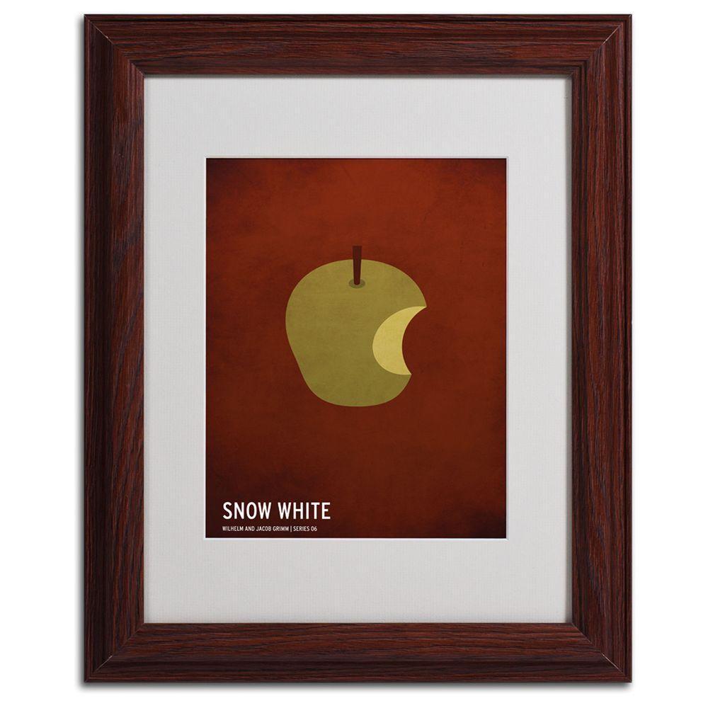 Trademark Fine Art 11 In X 14 In Snow White Matted