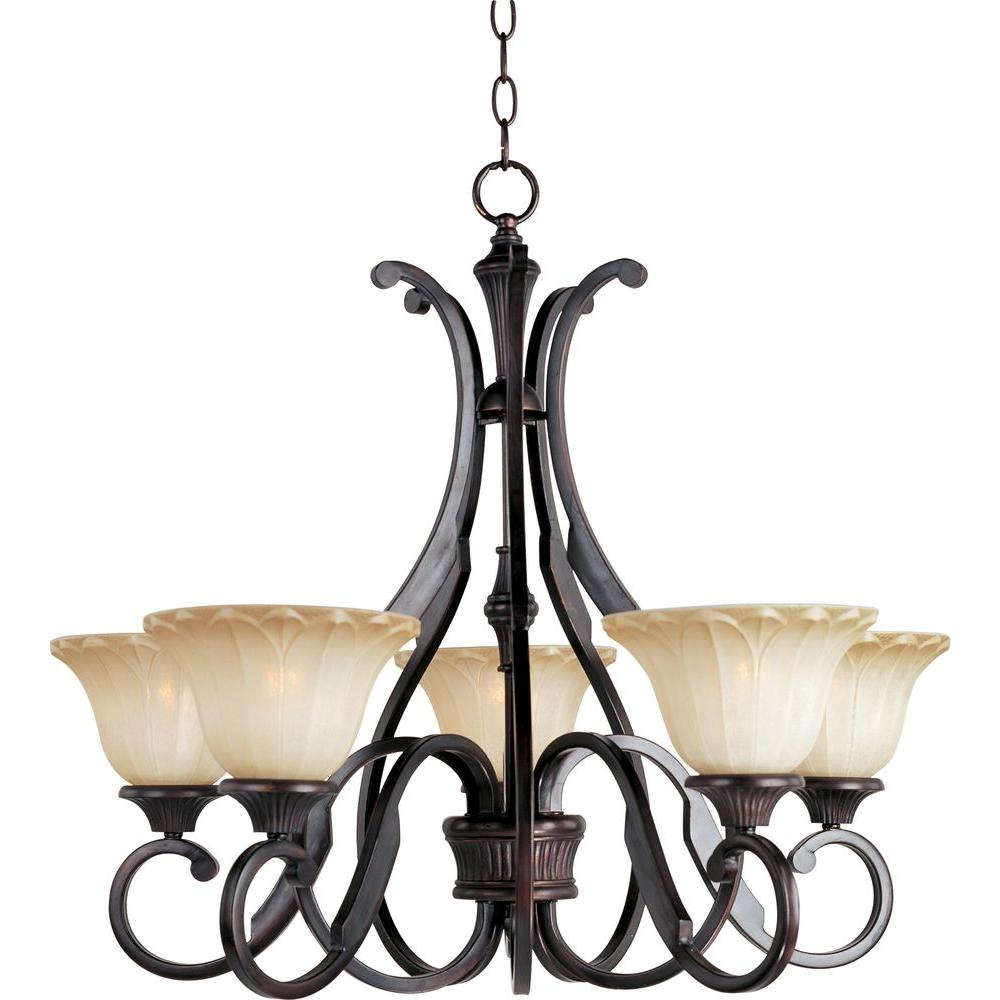 Allentown 5-Light Oil-Rubbed Bronze Chandelier