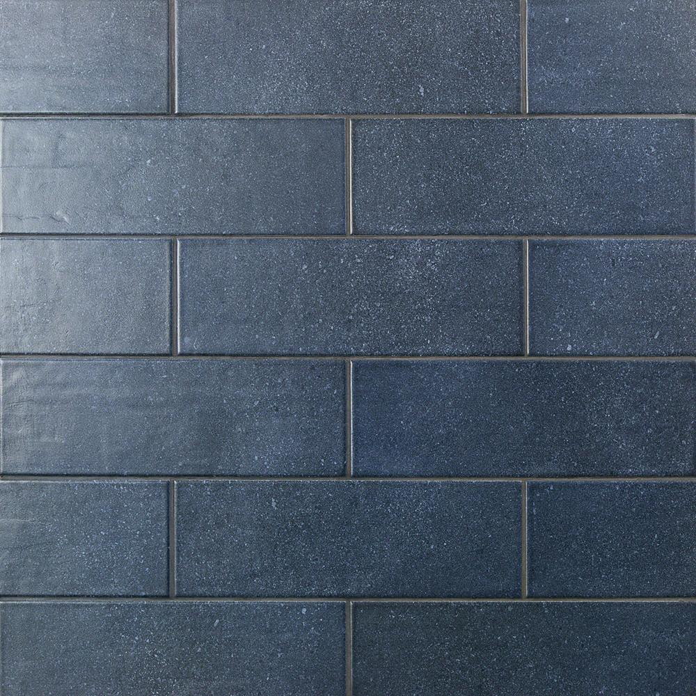 Ivy Hill Tile Piston Camp Blue Rock 4 In X 12 In 7mm