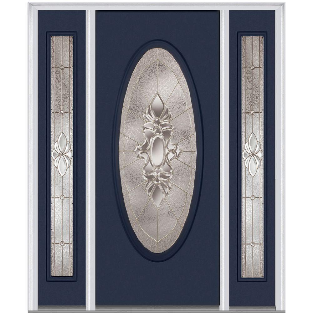 Mmi Door 60 In X 80 In Heirloom Master Left Hand Oval Lite