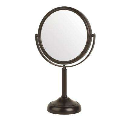 6.75 in. x 11 in. Table Makeup Mirror