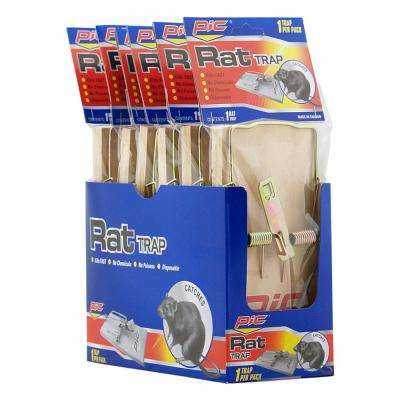 Rat Wood Trap (12-Pack per Case)