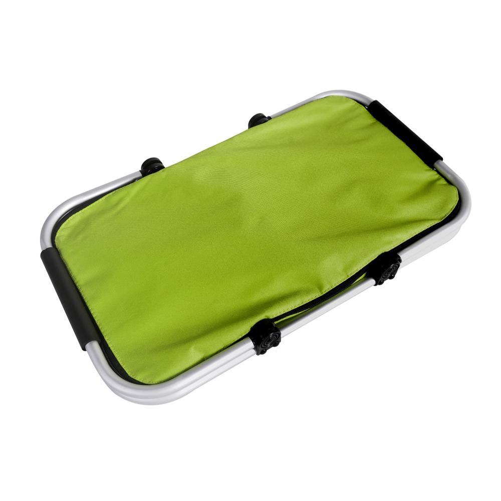 Outdoor Folding Waterproof Picnic Ice Bag, Green