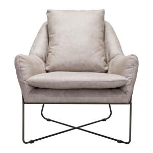 Tremendous Zuo Finn Distressed Gray Lounge Chair 101003 The Home Depot Unemploymentrelief Wooden Chair Designs For Living Room Unemploymentrelieforg