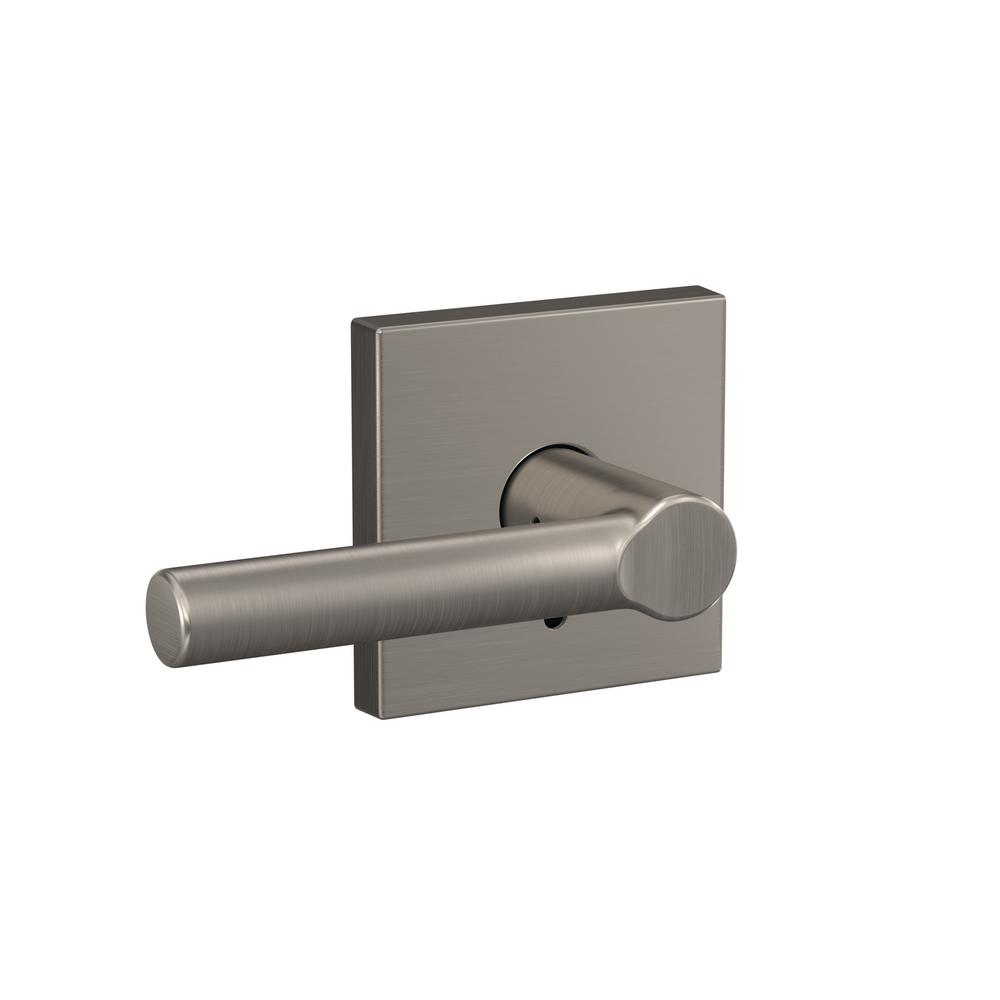 Schlage Custom Broadway Satin Nickel Collins Trim Combined