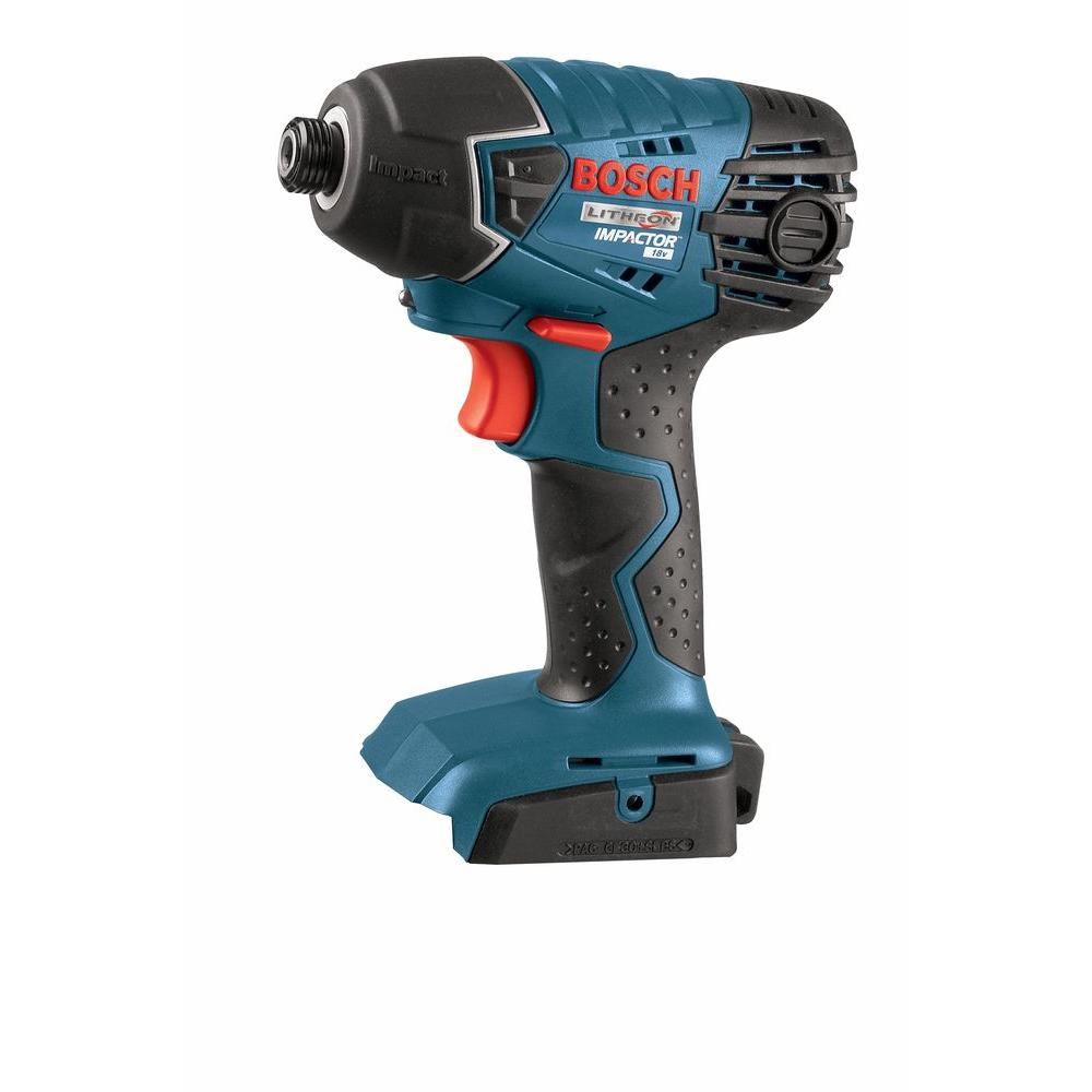 18 Volt Lithium-Ion Cordless Electric 1/4 in. Impact Driver with Insert
