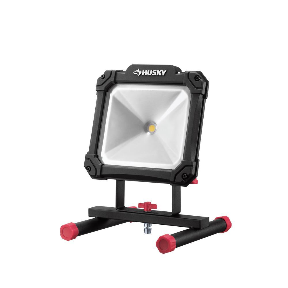 Husky 2500-Lumen Portable LED Work Light