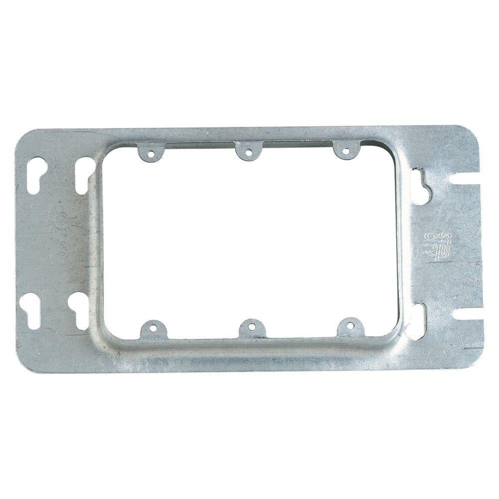 3-Gang Steel Box Cover (5 per Case)