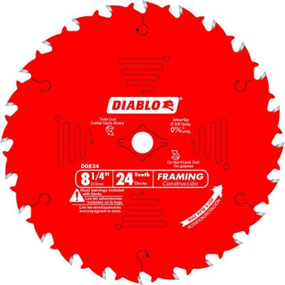 8-1/4 in. x 24-Tooth Framing Saw Blade