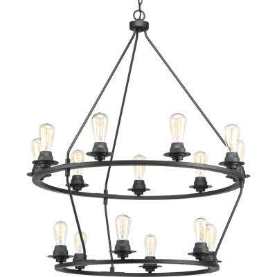 Debut Collection 15-light Graphite Chandelier