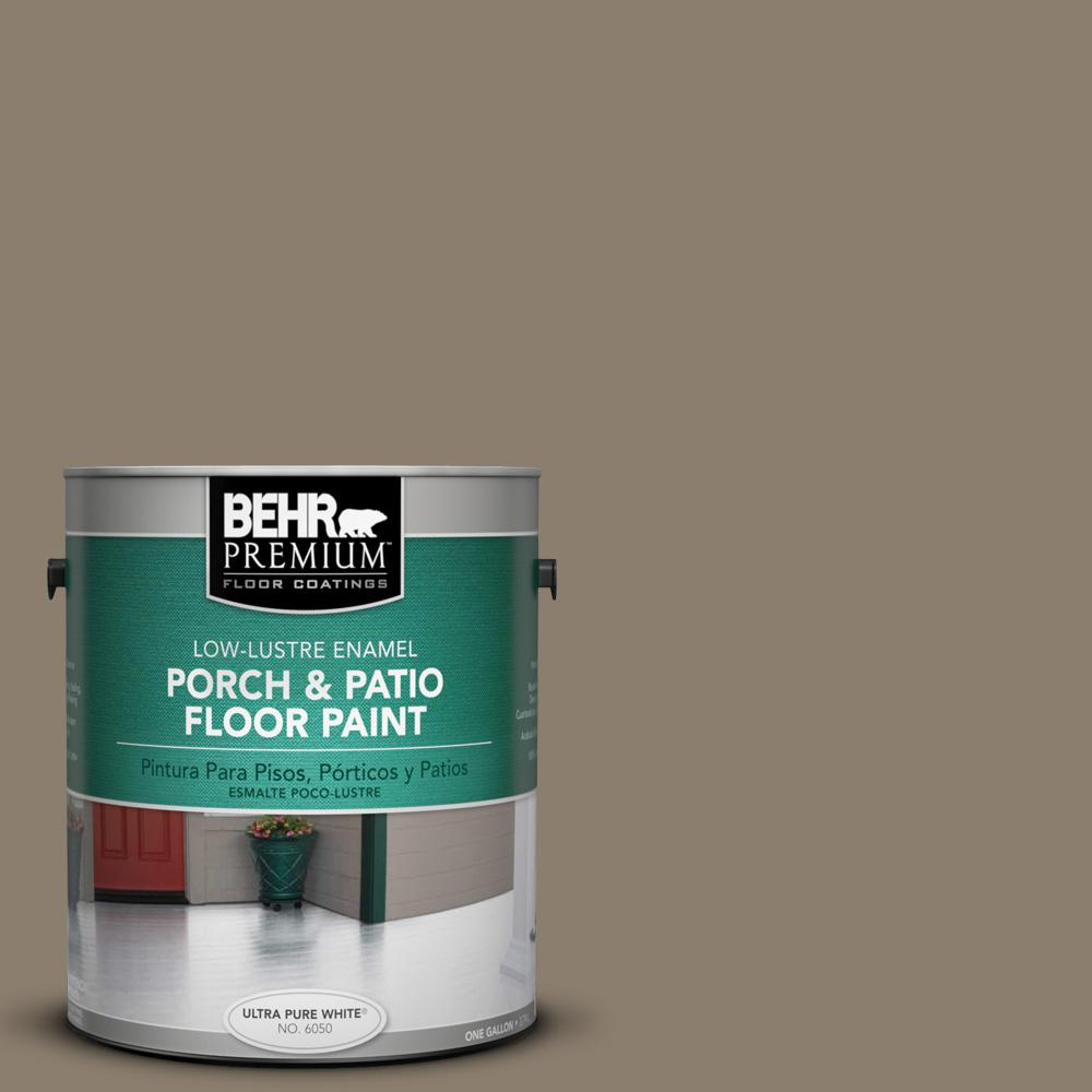 1 gal. #BNC-36 Restful Brown Low-Lustre Porch and Patio Floor Paint