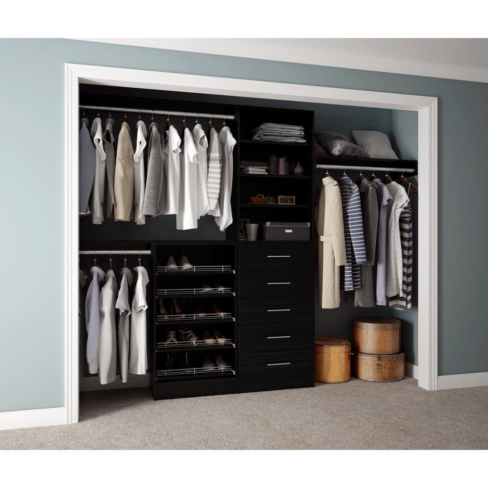 Hampton Bay Select 3 Door Mdf Wall Cabinet In Espresso