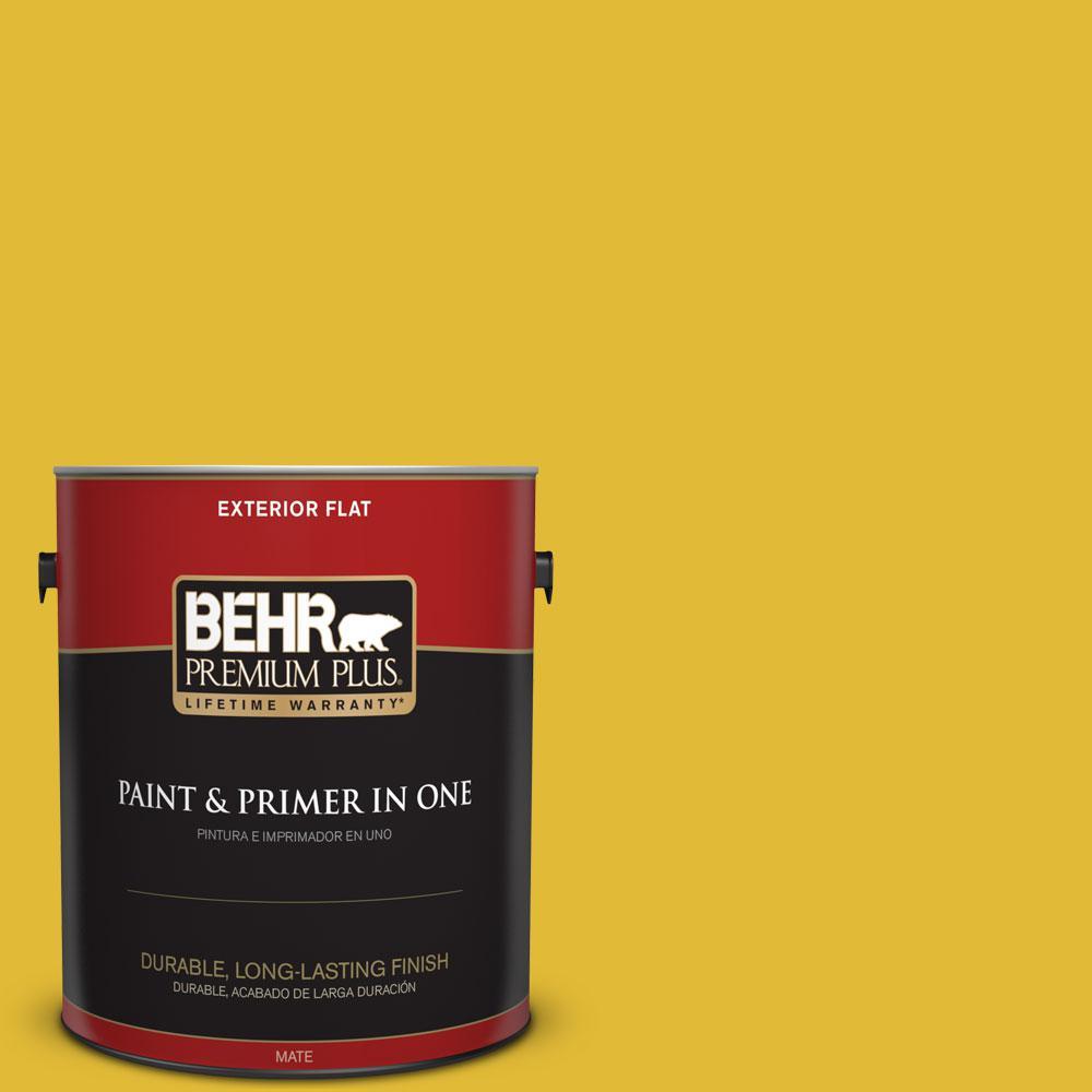 BEHR Premium Plus 1-gal. #P310-7 Solarium Flat Exterior Paint