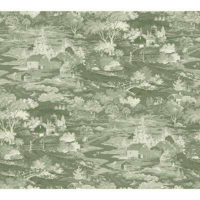 60.75 sq. ft. Homestead Removable Wallpaper