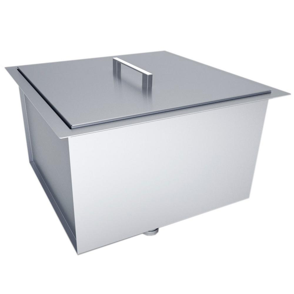 Sunstone Over/Under 20 in. x 12 in. Height Single Basin Sink with ...