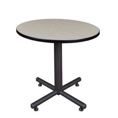 Kobe Maple 30 in. Round Breakroom Table