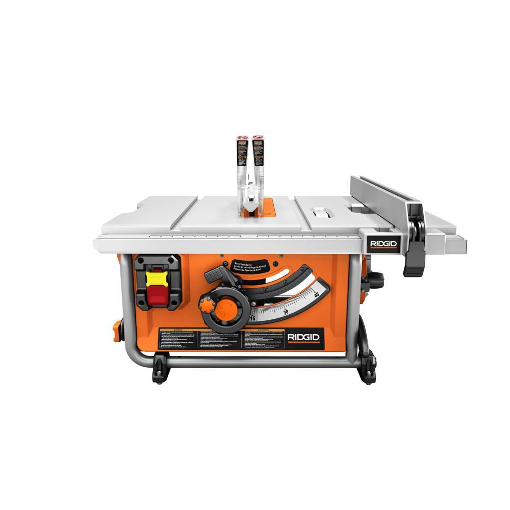 RIDGID 15 Amp Corded 10 in. Compact Table Saw