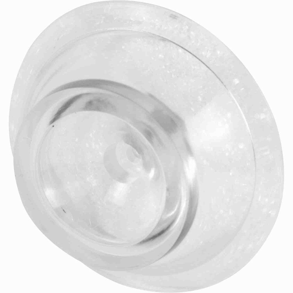 Prime-Line Clear Wall-Mounted Doorstops (2-Pack)