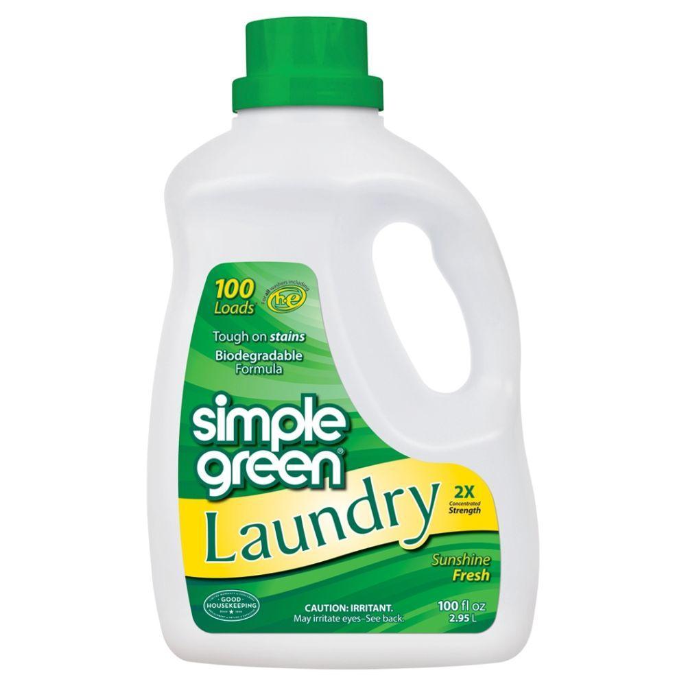 Simple Green 100 Oz Sunshine Fresh Laundry Detergent